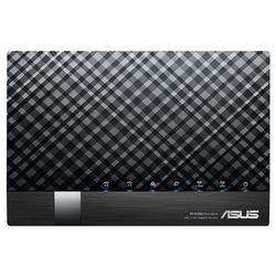 Asus - DSL-AC56U ADSL2+ Wi-Fi Collegamento ethernet LAN Dual-band Nero