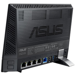 DSL-AC56U ADSL2+ Wi-Fi Collegamento ethernet LAN Dual-band Nero