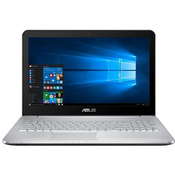 "Asus - VivoBook Pro N552VW-FY254T 2.6GHz i7-6700HQ 15.6"" 1920 x 1080Pixel Grigio, Metallico, Argento"