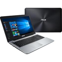 "Asus - F555QG-XX033T 2.4GHz A10-9600P 15.6"" 1366 x 768Pixel Nero, Grigio"
