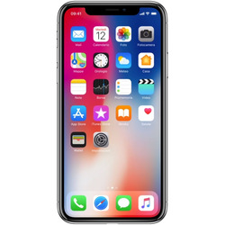 Apple - IPHONE X 256GB  silver