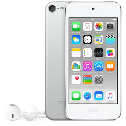 "Apple - iPod touch 4"" 16GB Silver"