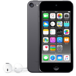 "Apple - iPod touch 4"" 16GB Space Gray"