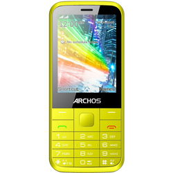 ARCHOS - Cellulare F28 DUAL SIM Giallo