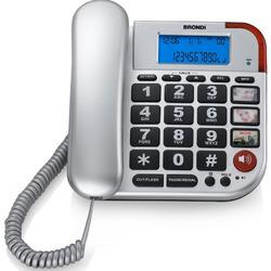 Brondi - Telefono a Filo BRAVO 50 Argento