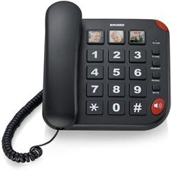 Brondi - Telefono a Filo BRAVO 15 Nero