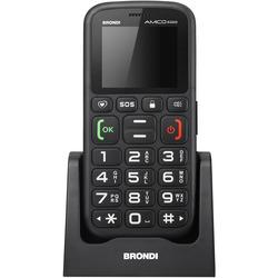 Brondi - Cellulare SENIOR AMICO RADIO Nero