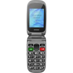 """Brondi - Cellulare SENIOR AMICO  PLUS C  2,4"""" Nero"""