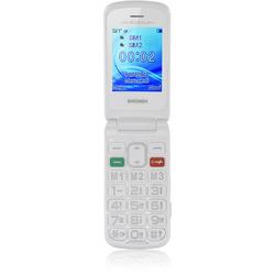 """Brondi - Cellulare SENIOR AMICO FLIP PLUS 2,4"""" Bianco"""