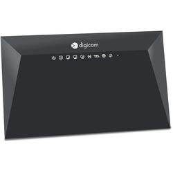 DIGICOM - RVW300-K01 Banda singola (2.4 GHz) Fast Ethernet Nero