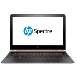 "HP - Spectre 13-v100nl i5-7200U 13.3"" 1920 x 1080Pixel Nero, Rame"