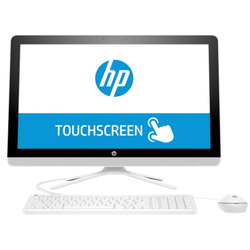 "HP - 24-g013nl 2.2GHz A8-7410 23.8"" 1920 x 1080Pixels Touch screen Bianco"