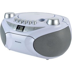 Majestic - AH-2478 BT MP3 USB bianco