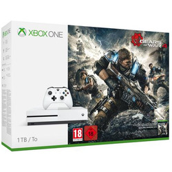 Microsoft - Xbox One S + Gears of War 4