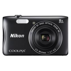 """Nikon - Coolpix S3700 2,7"""" 20,1Mpx BLACK"""