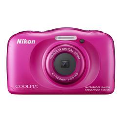 "Nikon - Coolpix S33 2,7"" 13,2 Mpx  Pink"