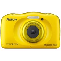 """Nikon - Coolpix S33 2,7"""" 13,2 Mpx  Yellow"""