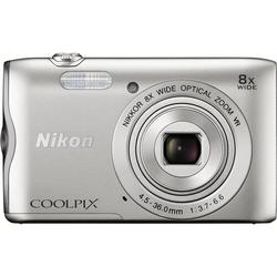 Nikon - COOLPIX A300  silver