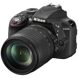 Nikon - D3300 + 18-55mm  VRII + SD 8GB
