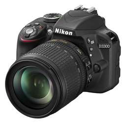 Nikon - D3300 + 18-105MM VR  nero