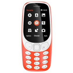 Nokia - 3310 SINGLE SIM  arancione tim