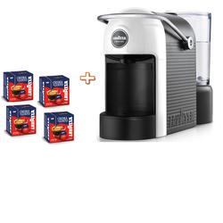 Lavazza - JOLIE  Semi-automatica + 64 Capsule incluse  Bianco, Nero