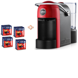 Lavazza - JOLIE  Semi-automatica + 64 Capsule incluse  Rosso, Nero