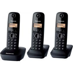 Panasonic - Cordless KX-TG1613 TRIO Nero