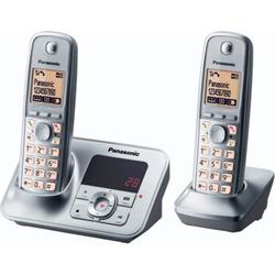 Panasonic - Cordless KX-TG6622 DUO CON SEGRETERIA  SILVER