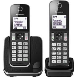 Panasonic - Cordless KT-TGD312 DUO Nero