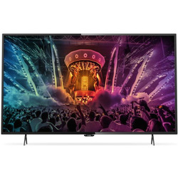 "Philips - 55PU6000  55"" 4K Ultra HD  Smart TV  Wi Fi Nero"