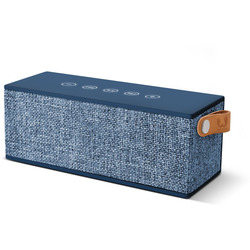 FRESH 'N REBEL - CASSA BT 12W ROCKBOX BRICK FABRIQ EDITION INDIGO