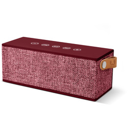 FRESH 'N REBEL - CASSA BT 12W ROCKBOX BRICK FABRIQ EDITION RUBY