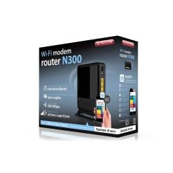 WLM-2600 N300 Wi-Fi Modem Router