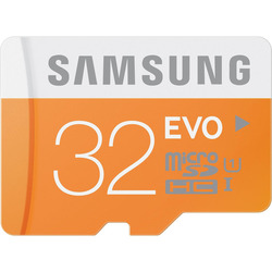 Samsung - MEM.MICRO SD 32GB CL.10 HC EVO C/ADATTATOR.SD UHS1
