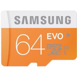 Samsung - Memoria Micro SD  64GB CL.10 HC EVO C/ADATTATOR.SD UHS1