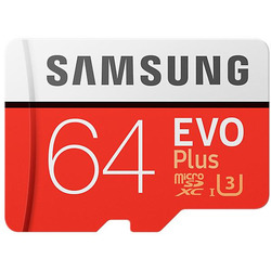 Samsung - MEM.MICRO SD 64GB EVO PLUS XC CL.10 C/ADATT.SD