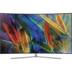 "Samsung - QE55Q7C 55"" QLED Quantum Dot, Curved, HDR 1500  WiFi PVR + SB HW-MS550"