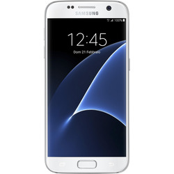 "Samsung - Galaxy S7 5,1""  SM-930FZ 32GB 4GB RAM  4G LTE Bianco Impermeabile"