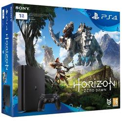 Sony - Console PS4 Pro 1TB + Gioco Horizon  Zero Dawn + Controller  Blu
