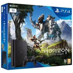 Sony - Console PS4 Pro 1TB + Gioco Horizon  Zero Dawn + Controller  Rosso