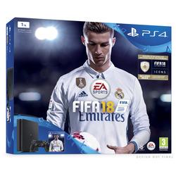 Sony - PS4 1TB E + FIFA 18 + PS PLUS 14GG FIFA T9912767