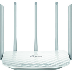 TP-LINK - AC 1350 Dual-band (2.4 GHz / 5 GHz) Fast Ethernet Bianco