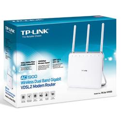 AC 1900 VDSL2 Wi-Fi Collegamento ethernet LAN Dual-band Bianco
