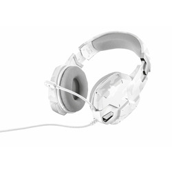 Trust - GXT 322W Gaming Headset - white camouflage