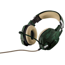 Trust - GXT 322C Gaming Headset - green camouflage