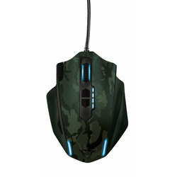 Trust - GXT 155C Gaming Mouse - green camouflage