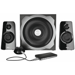 Trust - Tytan 2.1 Subwoofer Speaker Set - black
