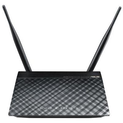 DSL-N12E ADSL2+ Wi-Fi Collegamento ethernet LAN Nero, Grigio router