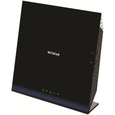 D6200 ADSL2+ Wi-Fi Collegamento ethernet LAN Dual-band Nero